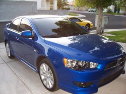 Mitsubishi Lancer After Car Detailing