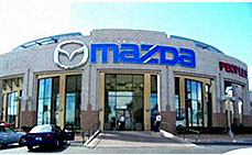 Las Vegas Mazda Dealership With Business Window Tinting