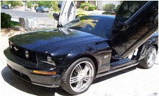 Ford Mustang With A Las Vegas Car Tint Job