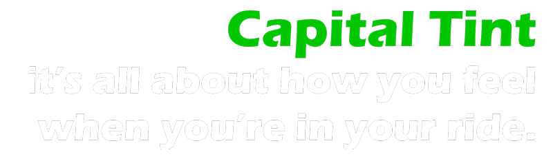 Capital Tint Slogan