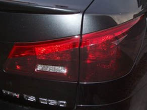 Lexus IS 350 With a Smoked Tail Light Job